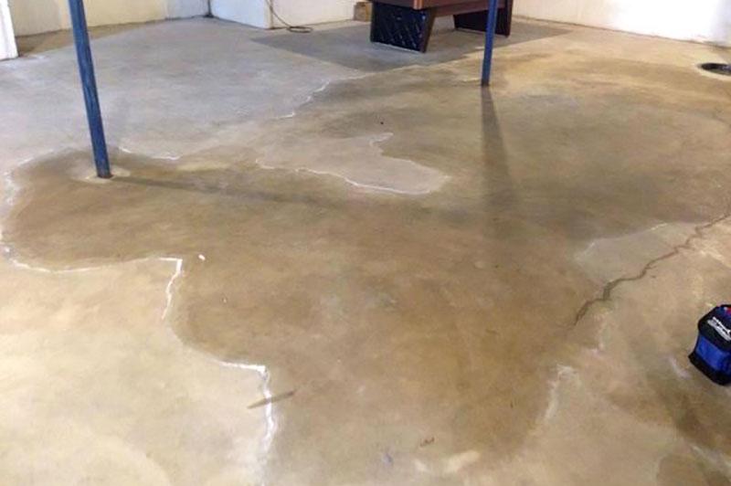 Wet Basement Moisture Control