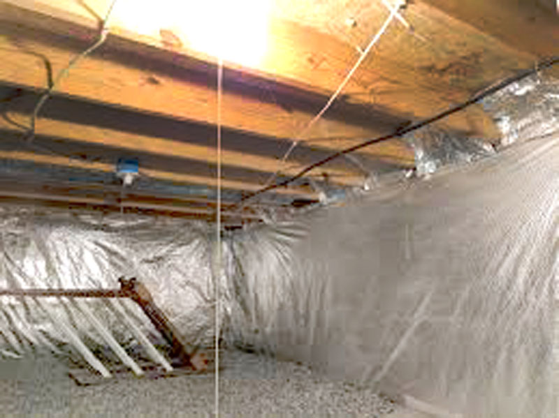 Crawl Space Wood Repair